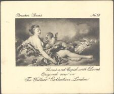 Ardath - Boucher Series - 28 - Venus and Cupid with Doves
