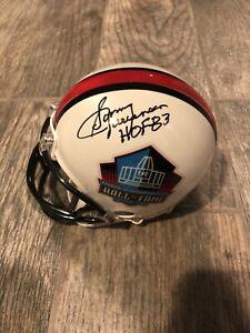 SONNY JURGENSEN SIGNED NFL HALL OF FAME MINI HELMET WASHINGTON JSA COA EAGLES