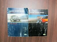 2005 2006 Land Rover RANGE ROVER SPORT Owners Owner's Manual OEM
