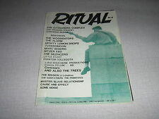 RITUAL 4 (15/4/88) BELGIAN ROCK ALSO THE TREES
