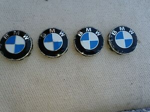 X4 Genuine BMW (68mm) Alloy Wheel Centre Caps -  Part No 6 783 536-04