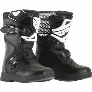 Fly Racing Maverik Pee Wee Boots - Black, All Sizes