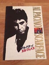 Scarface Japanese Movie Program! Rare!! Plus a Bonus Item! Take A Look!