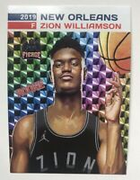 2019 Zion Williamson Prism Style Rookie Card New Orleans Pelicans