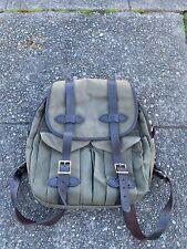Filson Vintage Rucksack Backpack Otter Green