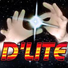 2 D'Lite Jr Child White Magic Tricks light up thumbs tip Brain Teaser Fairy Ice