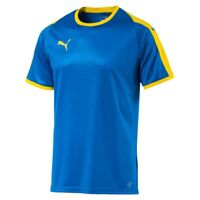 Puma Mens Sports Football Soccer Jersey Shirt Short Sleeve Crew/Round Neck Top