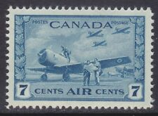 Canada C8 MNH OG 1943 7c Planes & Student Flyers Issue Very Fine