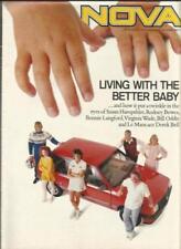 Nova 1992 Sales Car Brochures