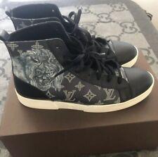 100% Authentisch Louis Vuitton Chapman Sneakers Marineblau Größe LV 8.5 US 10