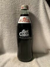 FULL 1 LITER DIET COCA-COLA ACL SODA BOTTLE 33.8oz RETURN FOR REFUND
