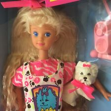 1991 Pet Pals Skipper doll NRFB friend of Teen Courtney Barbie dog