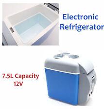 12V Portable Warmer Cooler 7.5L Car Travel Refrigerator Electric Truck Fridge