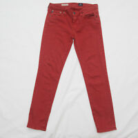 AG Adriano Goldschmied Stevie Ankle Jean Size 27 R Slim Straight stretch
