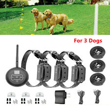 Wireless containment system Electric Fence Pet Shock Collars For 3dogs