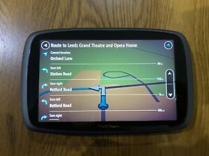TomTom Go 6100 Sat Nav In Mint Condition With Hard Case!