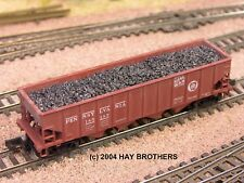 Hay Brothers Metallurgical Coke Load - fits Bowser 40ft 4-Bay Hopper Cars