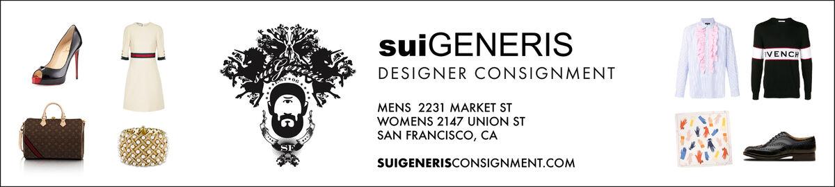 Sui Generis Designer Consignment