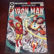 Editions Heritage Invincible Iron Man # 47/48 1976 French Edition Black White