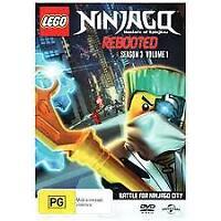 Lego Ninjago Rebooted Season 3 Volume 1 DVD [New/Sealed]