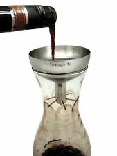 Stainless Steel Wine Decanting Aerator Funnel with Filter