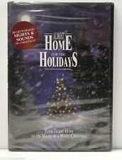 ALMOST HOME FOR THE HOLIDAYS DVD - MAGIC OF A WHITE CHRISTMAS - BRAND NEW