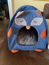 collapsable cat bed/ house with cushion