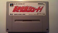 Aoki Densetsu Shoot! SHVC-A3KJ Super Famicom Cart SFC SNES Nintendo
