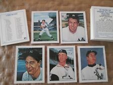 1983 TCMA NY Yankees All Stars Set COMPLETE