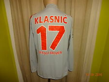 Werder Bremen Kappa Langarm CL.Matchworn Trikot 2005/06 + Nr.17 Klasnic Gr.L- XL