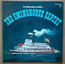 LP The Swinghouse Septet - In Session With... German Jazz Blues Nm Philips 1974
