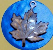 Charm C100 Maple Leaf Sterling Silver Vintage Bracelet
