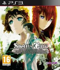 Steins;Gate [PlayStation 3 PS3, Region Free, Anime Thriller Mystery Game] NEW