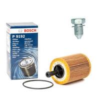 ORIGINAL BOSCH Ölfilter 1457429192 Audi Seat Skoda VW + Ölablassschraube