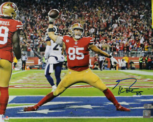 George Kittle Autographed/Signed San Francisco 49ers 16x20 Photo Beckett 33549