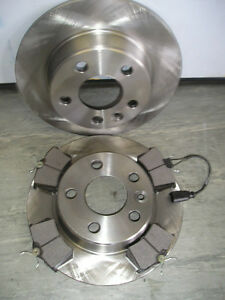 MK2 FORD GALAXY 1.9 2.3 REAR BRAKE DISCS AND PADS (2000-2006) NEXT DAY DELIVERY