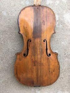 Old Baroque Transitional Violin ca. 1800; Hopf family, for restoration.