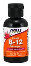 Now Foods, Liquid B-12, B-Complex, 2 fl oz (60 ml)