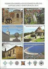 Tarjetas del Correo FESOFI Exposiciones Territorialesl 2014