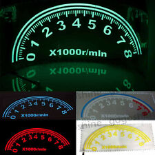 80x30CM Car Music Rhythm LED Flash Light Sticker Sound Equalizer speed meter