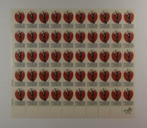 US SCOTT 1317 PANE OF 50 JOHNNY APPLESEED STAMPS 5 CENT FACE MNH