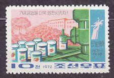 KOREA 1972 mint(*)  SC#1086 10ch, 6-Year Plan - Food Process-ing.