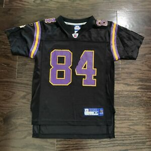 Vintage Randy Moss 84 Minnesota Vikings NFL Football Reebok Jersey Youth Medium