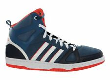 adidas NEO Hoops Team Mid top size UK 13.5 with suede, leather & textile upper