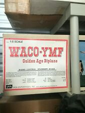 New In Box 1/5 Scale Pica WACO-YMF Golden Age Biplane kit