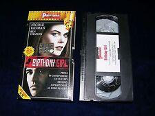 VHS BIRTHDAY GIRL - 2001
