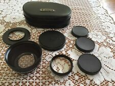 CANON Camera MULTI-CONVERSION LENS 46 KIT in MINT condition Vintage