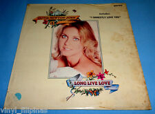PHILIPPINES:OLIVIA NEWTON-JOHN - Long Live Love LP,70's POP,rare!!!,ONJ,Grease