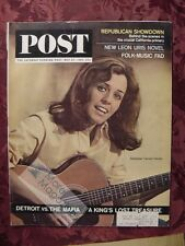 Saturday Evening Post May 30 1964 5/30/64 PETER PAUL MARY FOLK MUSIC