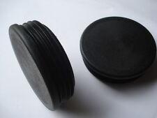 Lot de 2 embouts pour tube rond diamètre 45mm bouchon ailette PVC obturateur